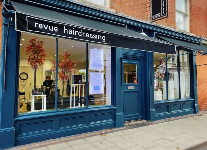 Revue Hairdressing Salon Front